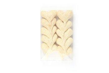 sisal heart, 10pcs box