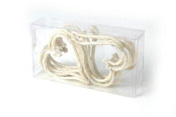 sisal hearts 24pcs/box, thin, open