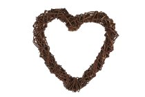 willow heart, open, thick quality