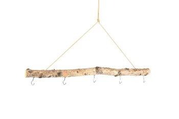 birch twig with 5 hooks