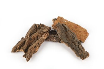 bark pieces in bag