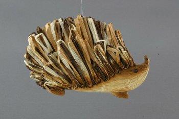 paper hedgehog, flat