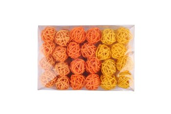 rattan ball 72pcs.i.pvc-box