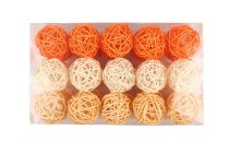 rattan ball 30pcs.i.pvc-box