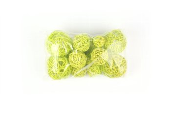 ra.balls,20pcs,lightgreen,7,5+5+3cm
