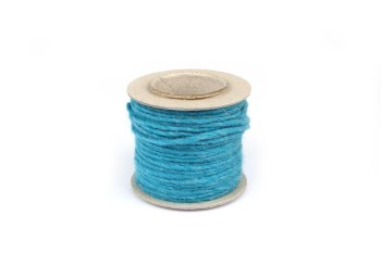wool ribbon on reel