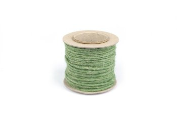 wool ribbon on reel
