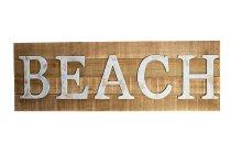 """wooden board """"BEACH"""""""