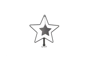 metal star top for advent wreath