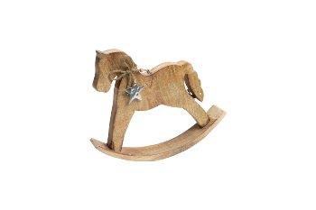 mango wood rocking horse