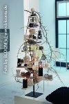 wooden/metal christmastree,