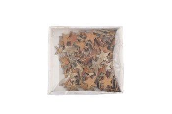 birch stars, 150pcs/box