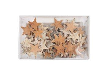 birch stars, 80pcs/box