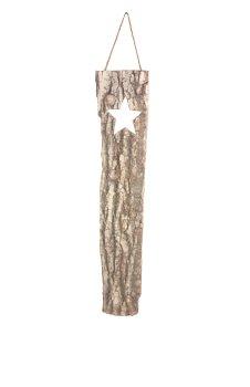 oak slab with star cutout
