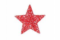 rattan split star, flat