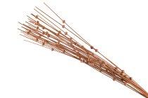 rattan sticks with wooden pearls, 30pcs/bu