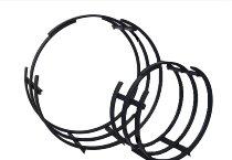 Metall-Gitter für Feuerholz