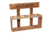 "wooden ""Weinbar"""