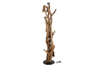 teakwood lamp stand/base only